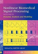 Nonlinear Biomedical Signal Processing  Volume 2