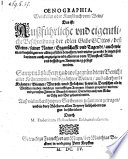 Oenographia, Weinkeller oder Kunstbuch vom Wein, Das ist: Auszführliche vnd eigentliche Beschreibung der edlen Gabe Gottes, deß Weins, seiner Natur, Eiygenschafft vnd Tugendt