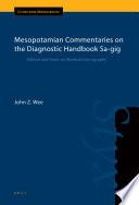 Mesopotamian Commentaries on the Diagnostic Handbook Sa gig