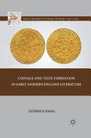 Coinage and State Formation in Early Modern English Literature Pdf/ePub eBook
