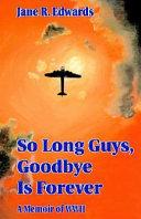 So long guys, goodbye is forever