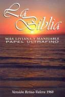 Biblia Reina-Valera 1960 Concordancia/papel Ultrafino