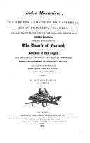 Index monasticus