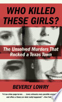 Who Killed These Girls  Book PDF