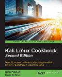 Kali Linux Cookbook Second Edition Book PDF