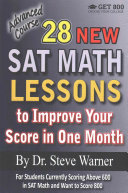 28 New SAT Math Lessons to Improve Your Score in One Month   Advanced Course Book