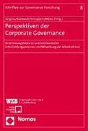 Perspektiven der Corporate Governance