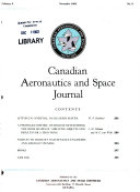 Canadian Aeronautics and Space Journal Book