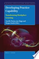 Developing Practice Capability