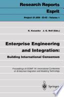 Enterprise Engineering and Integration  Building International Consensus