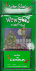 WEE SING FOR CHRISTMAS Cassette Tape