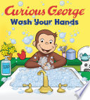 Curious George Wash Your Hands  Cgtv Board Book