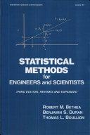 Statistical Methods for Engineers and Scientists Pdf/ePub eBook