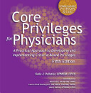 Core Privileges For Physicians Book PDF