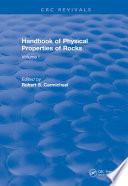 Handbook of Physical Properties of Rocks (1982)