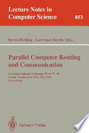 Parallel Computer Routing and Communication