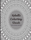 Adults Coloring Book For Stress Relief