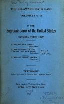 The Delaware River Case
