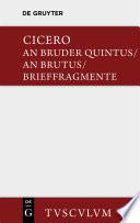 An Bruder Quintus