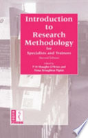 Introduction to Research Methodology for Specialist Trainees Book