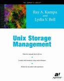 Unix Storage Management