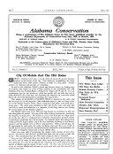 Alabama Conservation Book