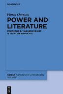 Power and Literature Pdf/ePub eBook