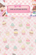 Cakes And Cupcakes Blank Recipe Book