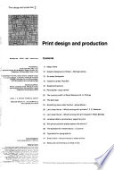 Print Design and Production