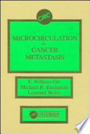 Microcirculation in Cancer Metastasis Book