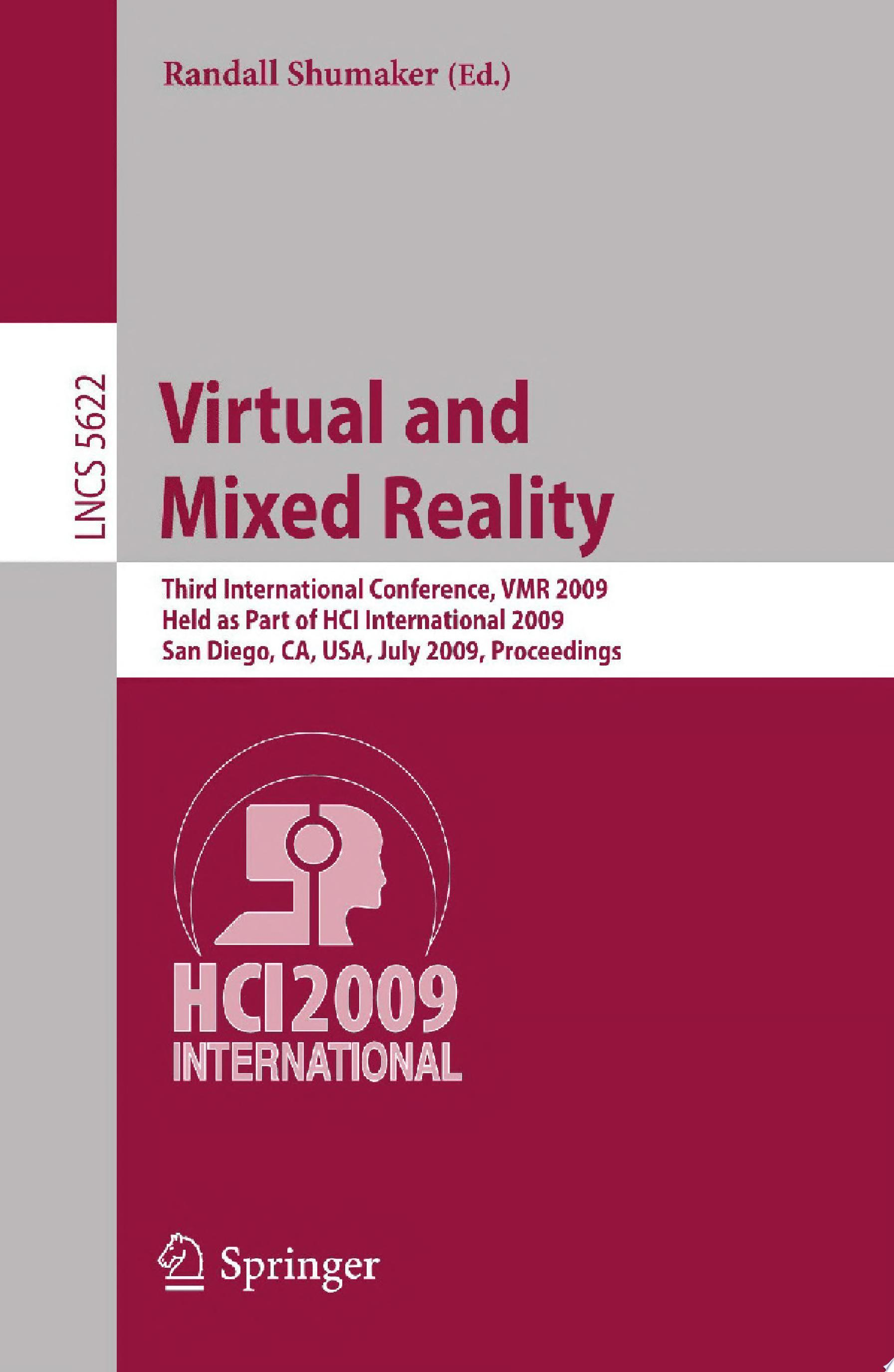 Virtual and Mixed Reality