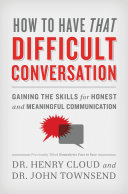 How to Have That Difficult Conversation Pdf/ePub eBook