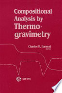 Compositional Analysis by Thermogravimetry