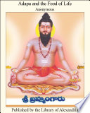 Adapa and the Food of Life Book