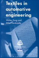 Textiles in Automotive Engineering Book