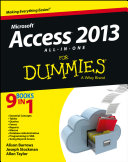 Access 2013 All in One For Dummies
