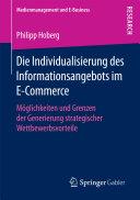 Die Individualisierung des Informationsangebots im E-Commerce