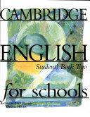 Cambridge English for schools  2   Student s Book