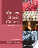 Women Music Culture Book