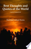 Best Thoughts And Quotes Of The World Book PDF