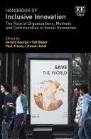 Handbook of Inclusive Innovation