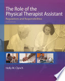 The Role Of The Physical Therapist Assistant