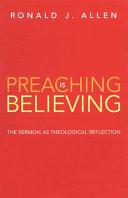 Preaching is Believing