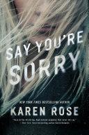 Say You're Sorry [Pdf/ePub] eBook