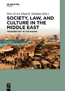"""Society, Law, and Culture in the Middle East: """"Modernities"""" in the ..."""