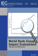 World Bank Group Impact Evaluations