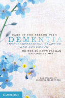 Care of the Person with Dementia