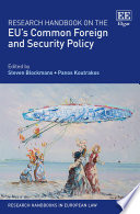 Research Handbook On The Eu S Common Foreign And Security Policy