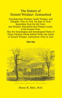 The History of Ancient Windsor Connecticut