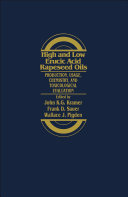 High and Low Erucic Acid in Rapeseed Oils Pdf/ePub eBook